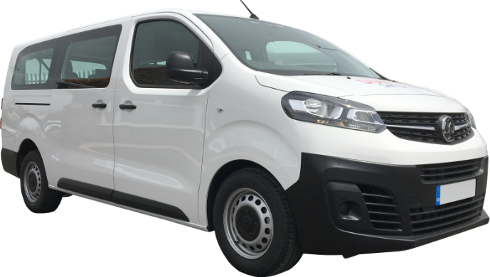 Rent an MPV or minibus