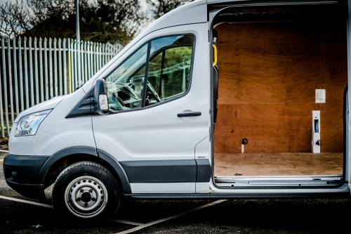 Rent a van with as much space as you need