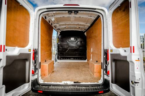Plenty of space in this van to move your stuff