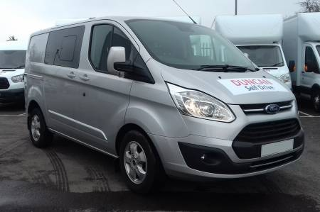 Ford Transit Custom 290 Limited Crew Cab (Or similar)