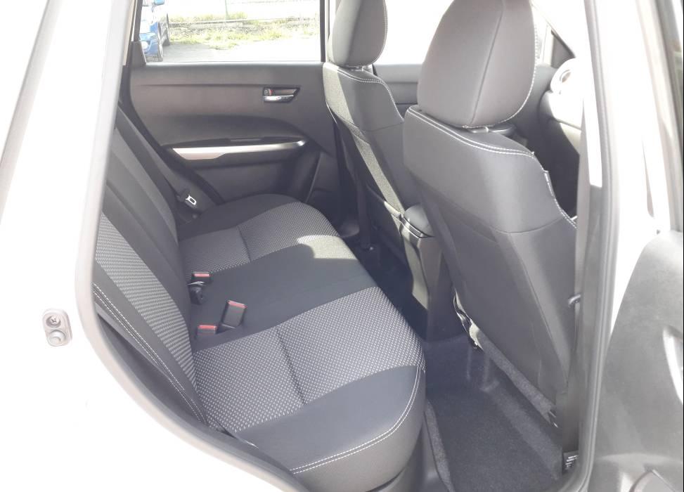 Duncan self drive suzuki vitara rear seats