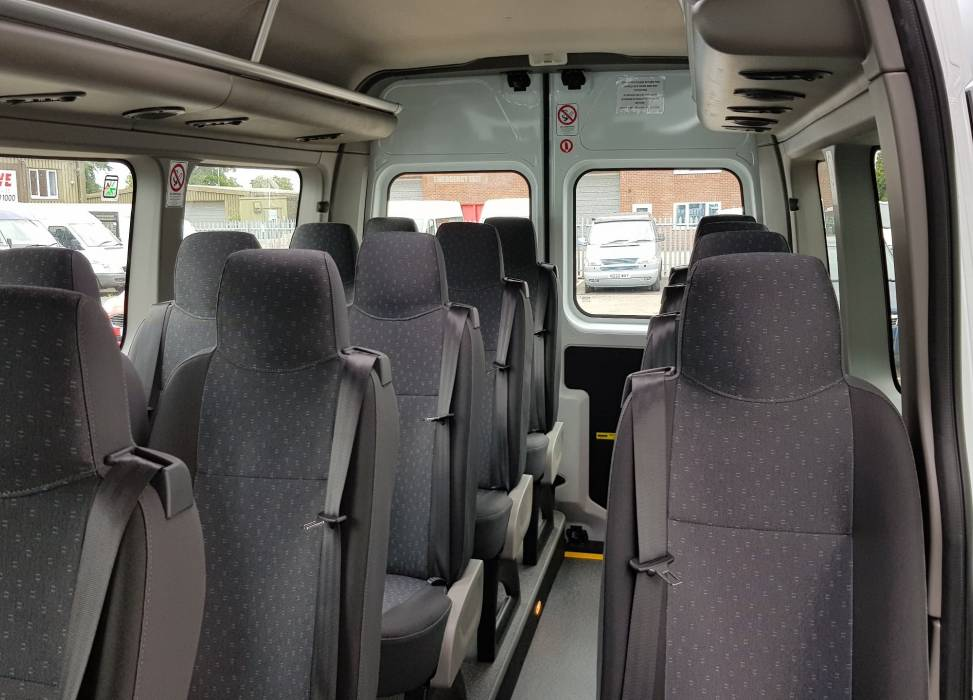 Duncan self drive minibus hire vauxhall movano