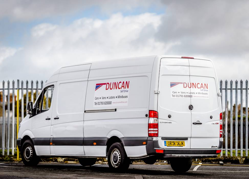 A great van for all large jobs