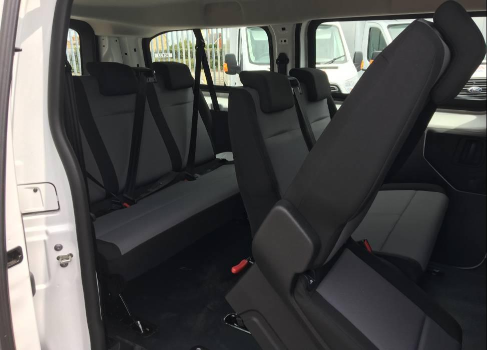 Vivaro minibus rear access