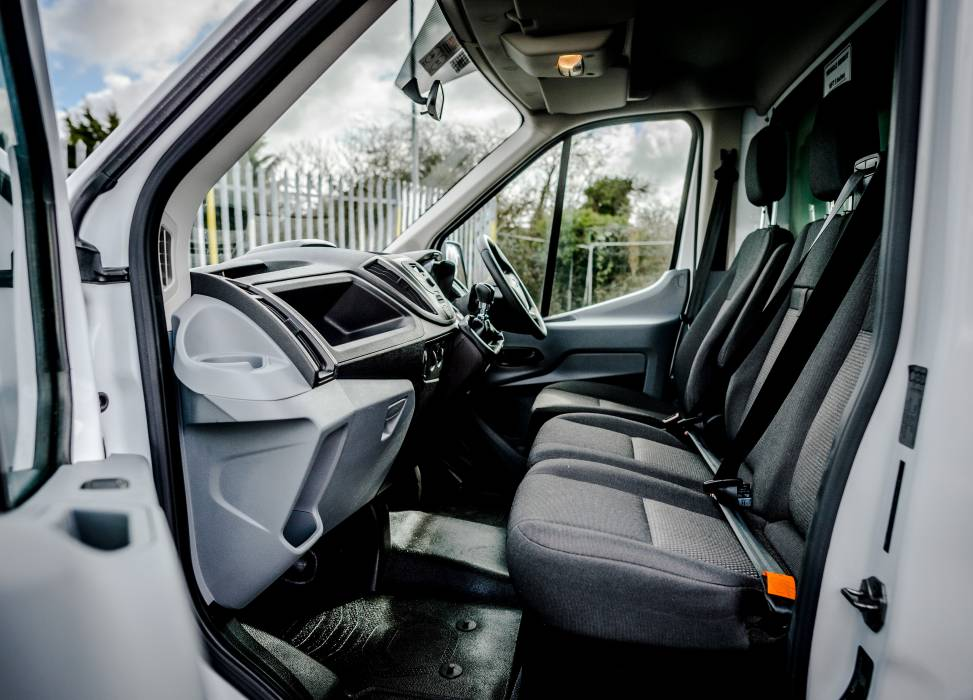 Duncan self drive front seats van hire luton hire