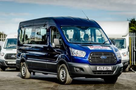 Ford Transit LWB 15 Seat Minibus MPV (Based at our Swindon office)