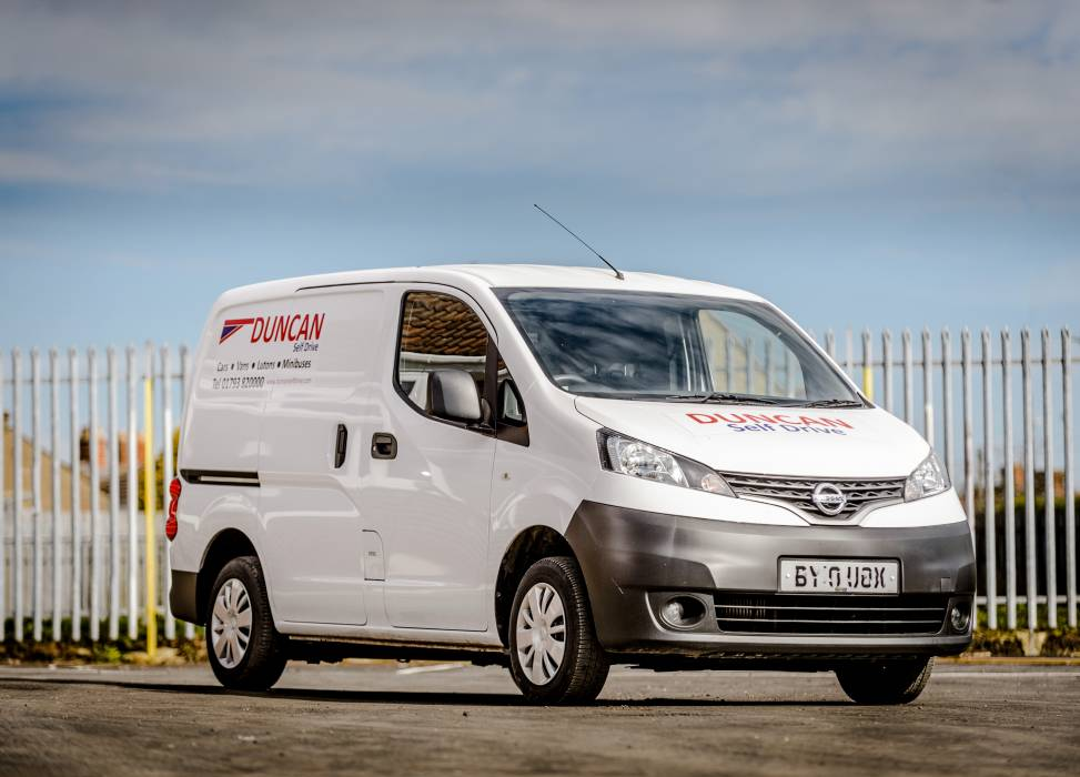 A compact van for smaller deliveries