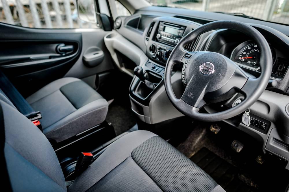 Comfortable Small Van Interior