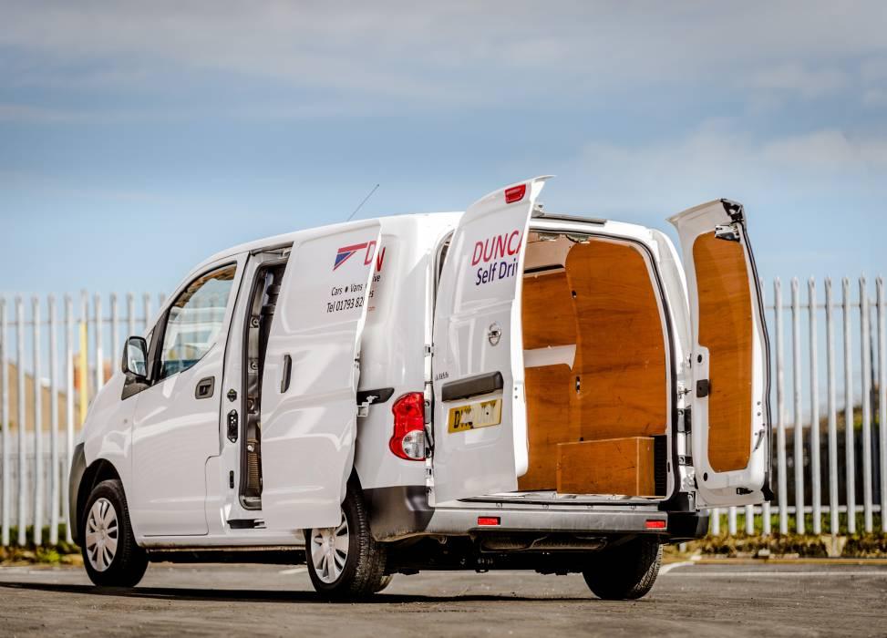 Nissan nv200 rear doors