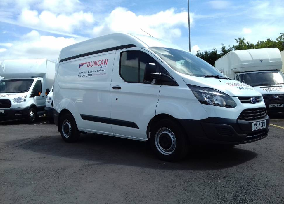 Short wheelbase Ford Transit